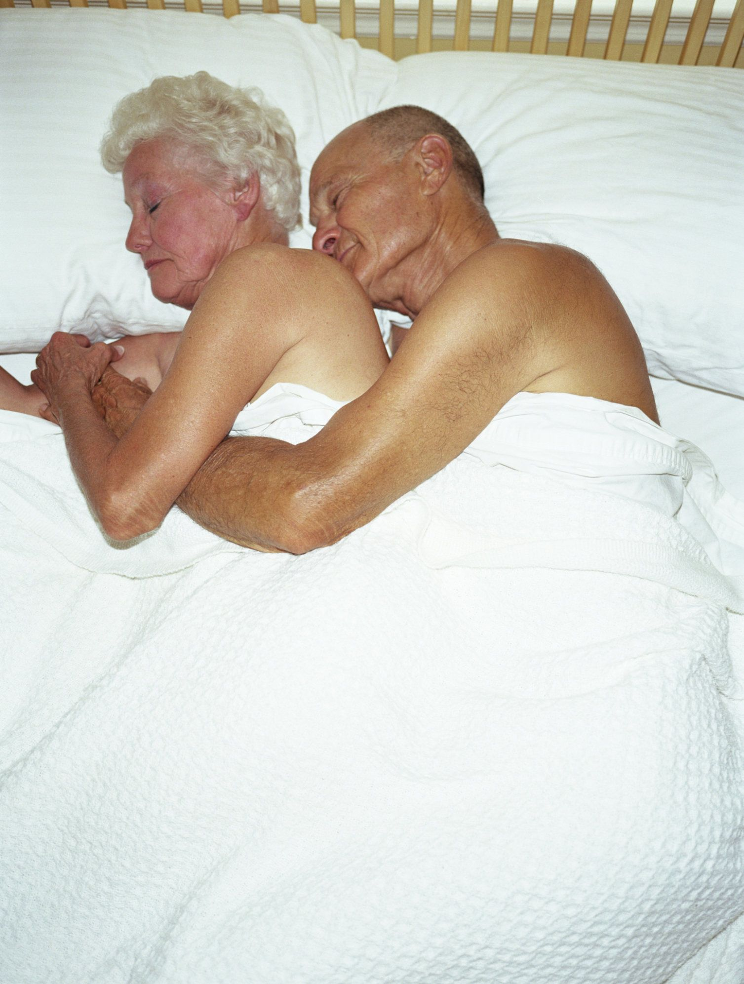 Making love to an older woman
