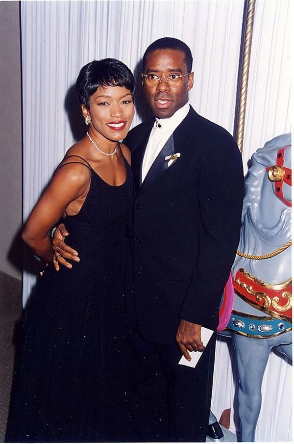 Actors Angela Bassett and Courtney B. Vance first met in 1980.