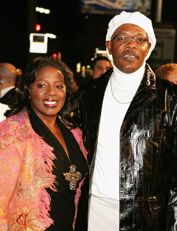 Samuel L. Jackson and wife LaTonya Richardson have been married since 1980.