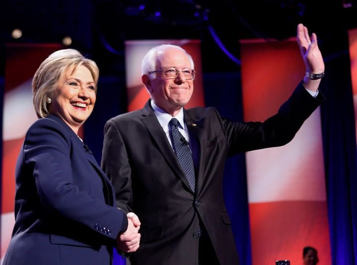 Democratic presidential candidates Hillary Clinton and Bernie Sanders will face superdelegates in their fight for the nominat