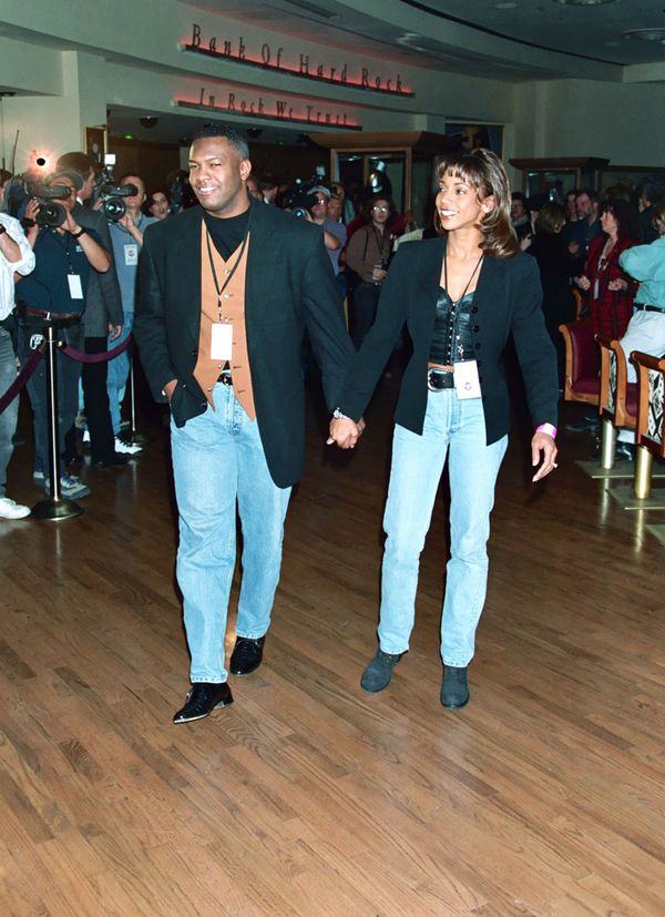 Actress Holly Robinson Peete married Rodney Peete in 1995. The couple have four children.