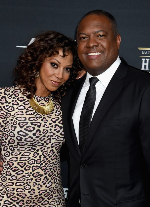 Holly Robinson Peete and Rodney Peete attend the 5th Annual NFL Honors at Bill Graham Civic Auditorium on February 6, 2016.