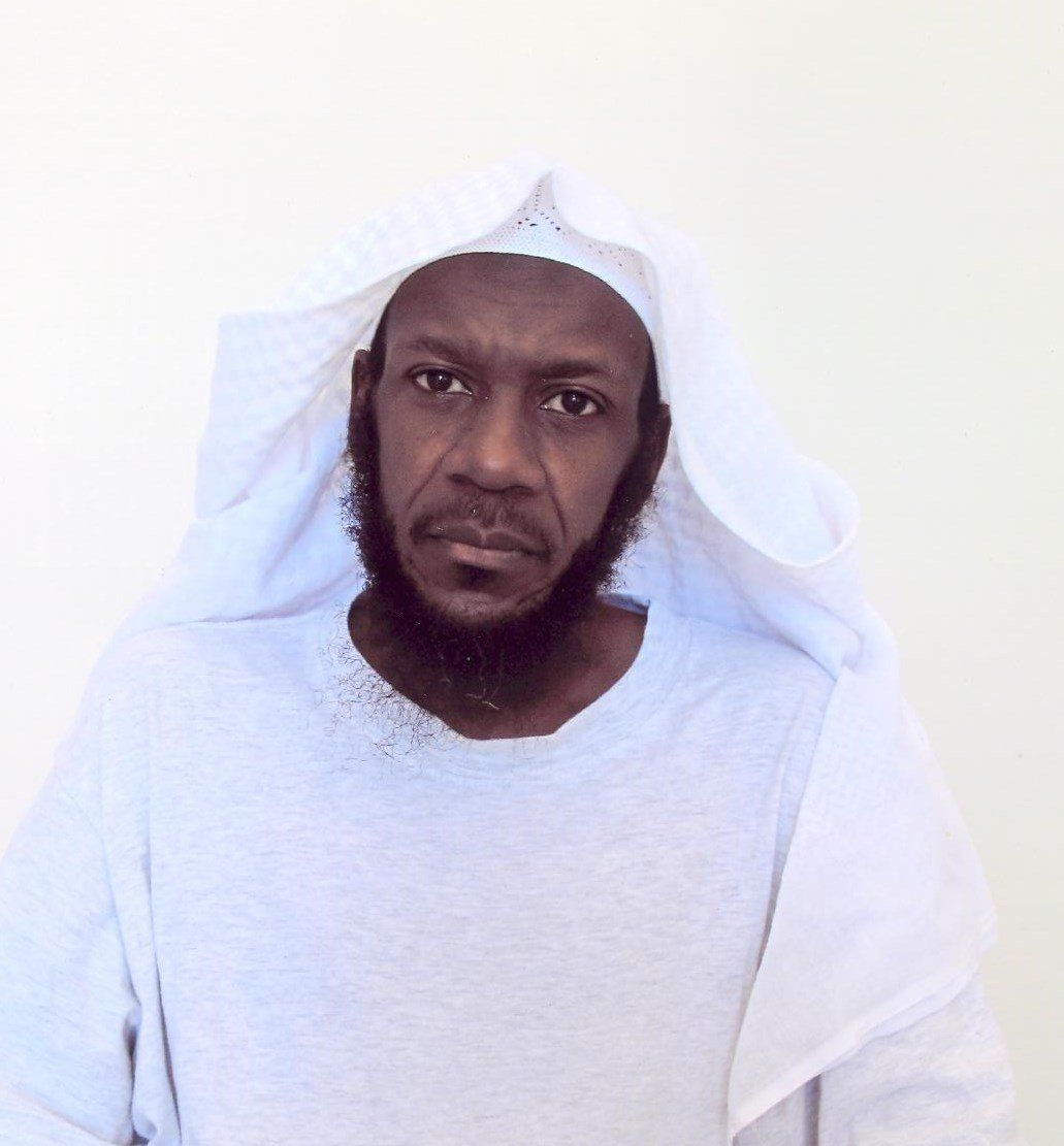 Mustafa al-Hawsawi in a picture taken by the International Committee of the Red Cross in 2015.