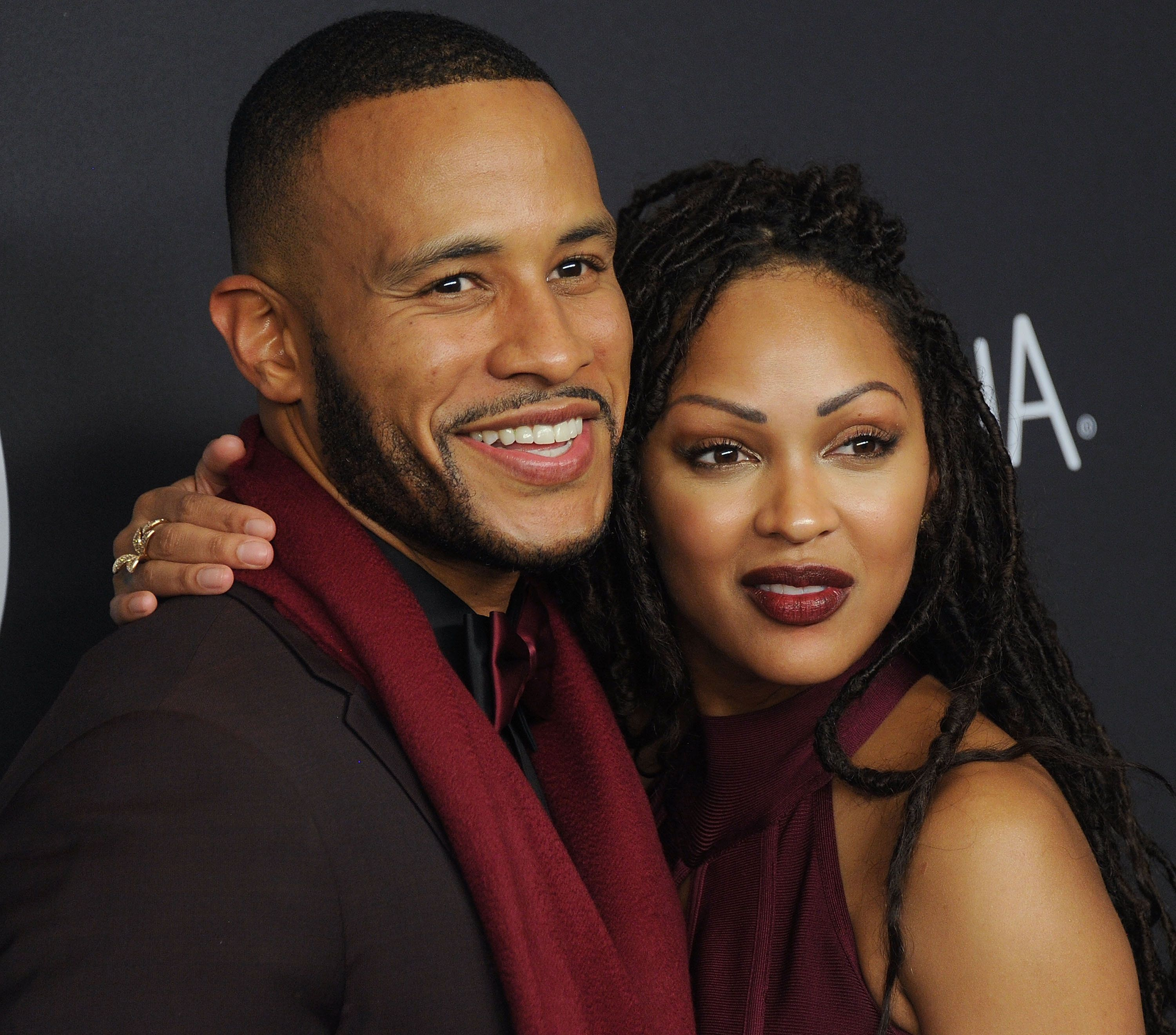 BEVERLY HILLS, CA - JANUARY 10:  Actress Meagan Good and DeVon Franklin arrive at the 2016 InStyle And Warner Bros. 73rd Annual Golden Globe Awards Post-Party at The Beverly Hilton Hotel on January 10, 2016 in Beverly Hills, California.  (Photo by Gregg DeGuire/WireImage)