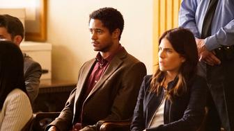 HOW TO GET AWAY WITH MURDER - 'What Happened to You, Annalise?' - A few weeks have passed since Wes shot Annalise. Wes and The Keating 5 deal with the fallout from that night, as Annalise is faced with a complicated road to recovery on 'How to Get Away with Murder,' THURSDAY FEBRUARY 11 (10:00-11:00 p.m. EST) on the ABC Television Network. (Photo by Kelsey McNeal/ABC via Getty Images) ALFRED ENOCH, KARLA SOUZA