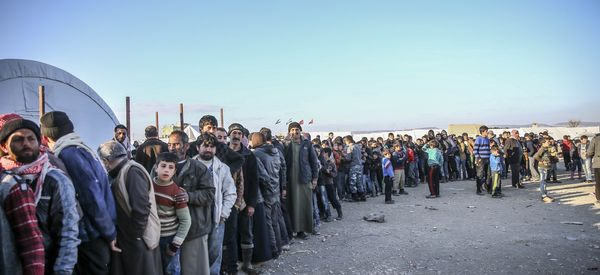 Syrians Stranded By Fighting Over Aleppo Beg Turkey To Open Border