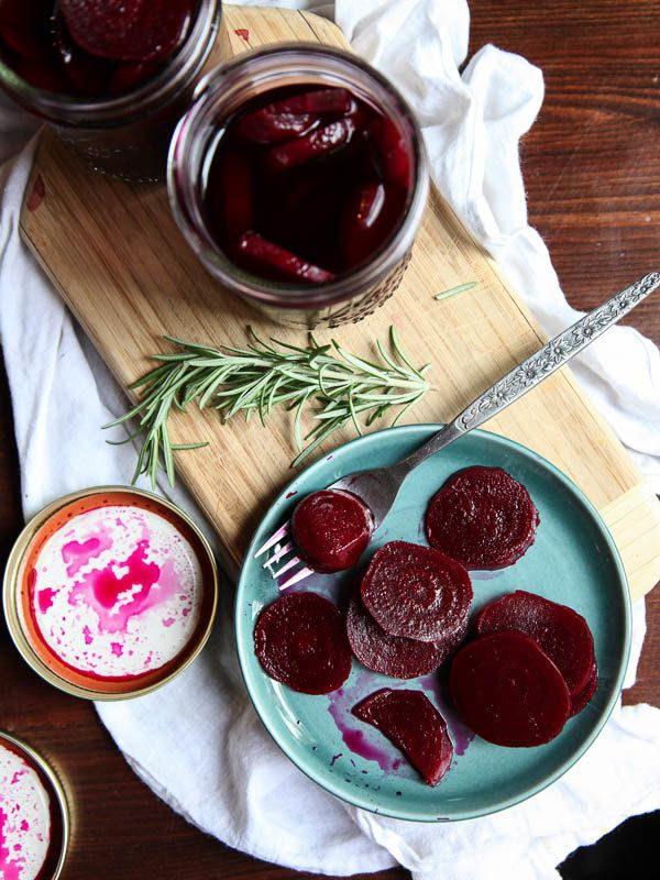 """<strong>Get the <a href=""""http://www.foodiecrush.com/2013/09/burr-trail-grill-pickled-beets/"""" target=""""_blank"""">Burr Trail Grill"""