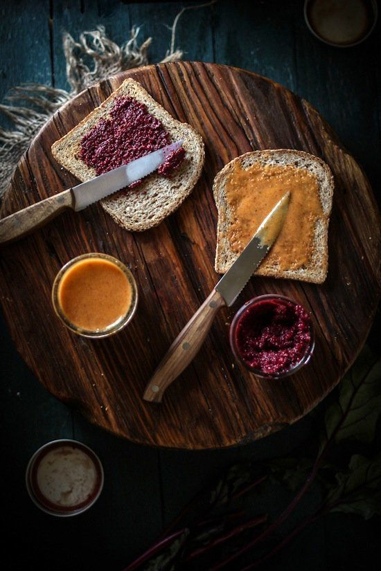 """<strong>Get the <a href=""""http://www.adventures-in-cooking.com/2013/04/roasted-beet-balsamic-mustard-honey.html"""" target=""""_blan"""