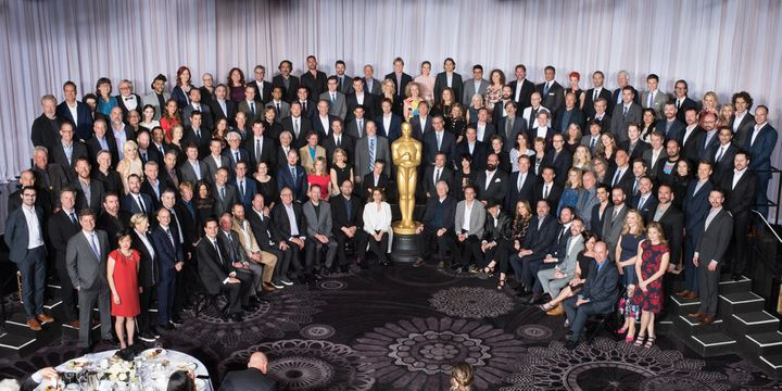 Nominees for the 88th Oscars on Monday, Feb. 8.