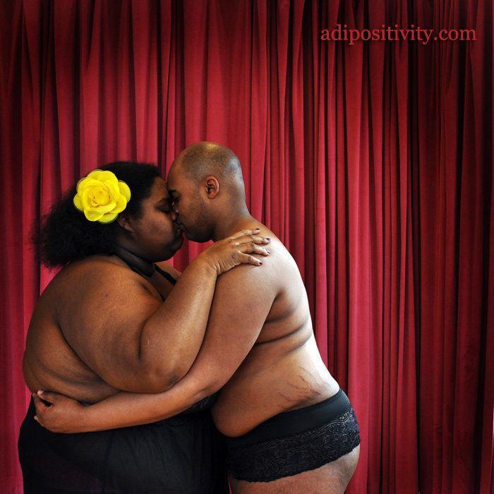 """Fat femme"" photographer Substantia Jones isthe brilliant mind behind The Adipositivity Project."