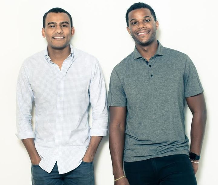 <strong>Porter Braswell and Ryan Williams, founders of Jopwell.</strong>