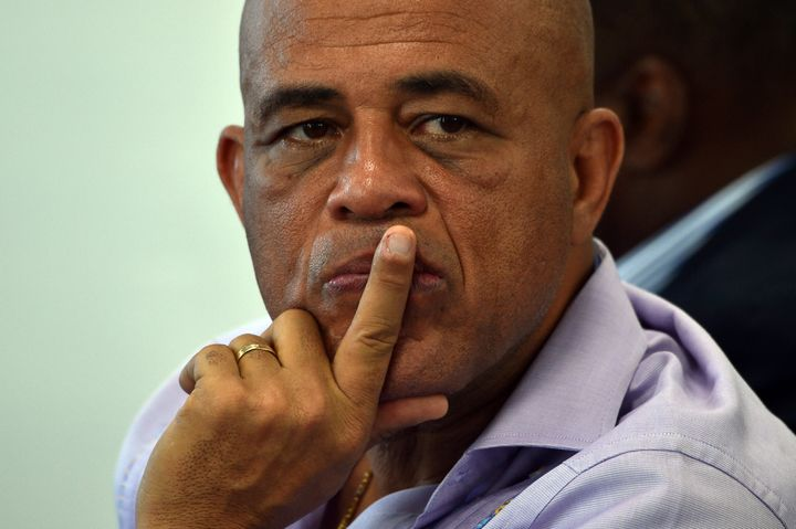 Former Haitian president Michel Martelly stepped down on Feb. 7, without a successor, leaving the nation in a 'power vac