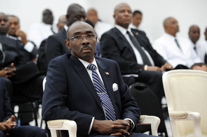 Prime Minister Evans Paul haslimited power until the Haitian National Assembly chooses a transitional leader on Sunday.