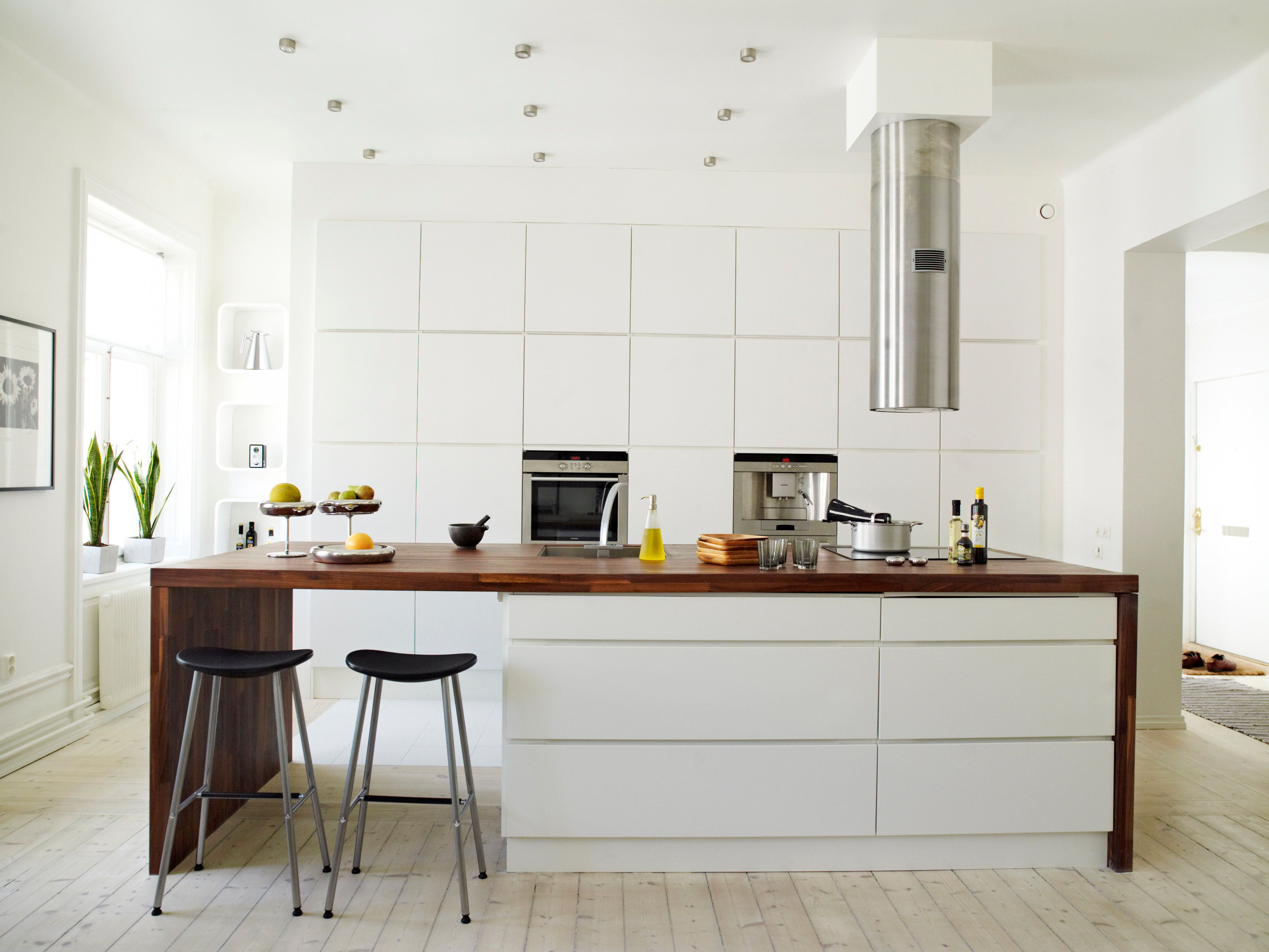 A white kitchen Sweden.