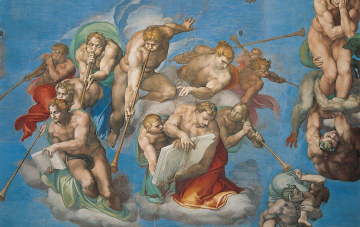 The church made a compromise to save Michelangelo's masterful painting.