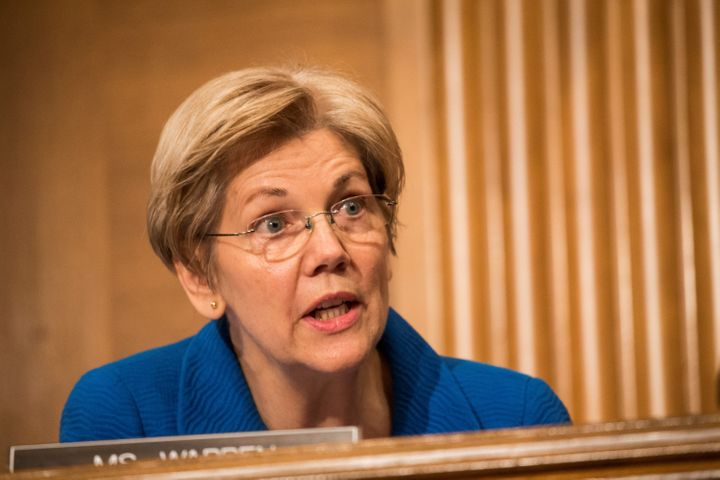 Sen. Elizabeth Warren (D-Mass.) dismissed claims that seating a Supreme Court justice in President Obama's last year in offic