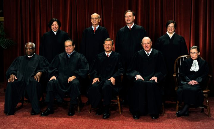 The Supreme Court unanimously offered praise and admiration for Justice Antonin Scalia.