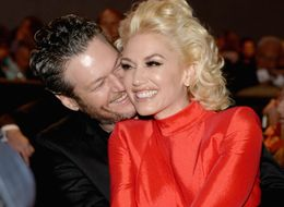 Gwen Stefani And Blake Shelton Aren't Shy With The PDA At Pre-Grammys Bash