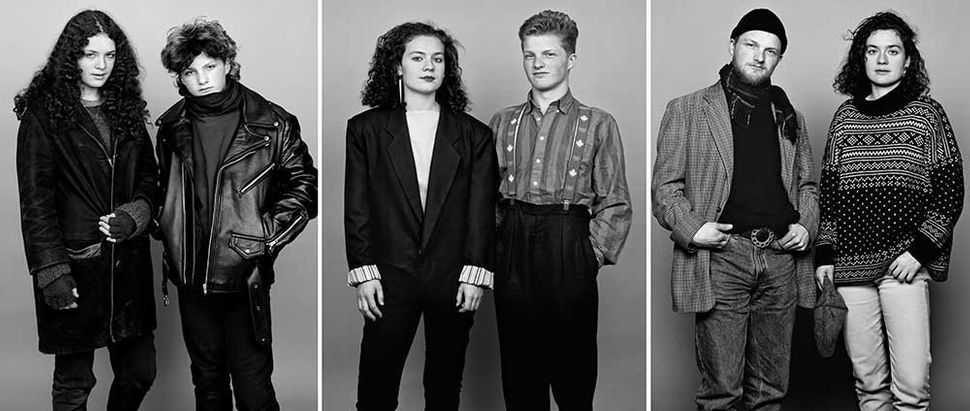 <i>Carole, Serge, 1982. Carole, Serge, 1988. Serge, Carole, 2014.</i>