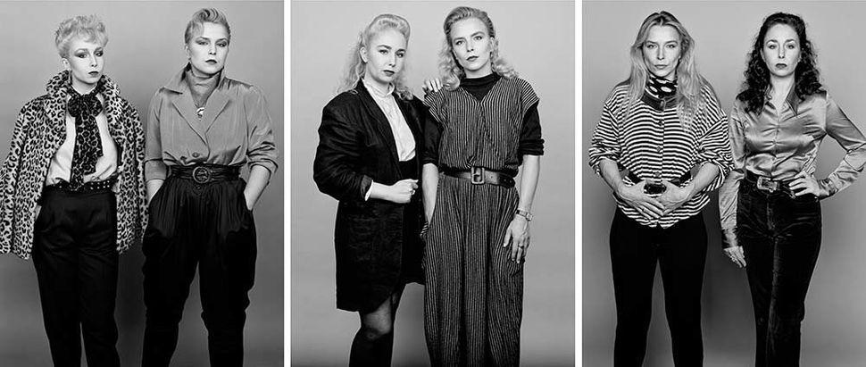 Lili and Franciska, 1982.Lili and Franciska, 1988.Franciska and Lili, 1997.