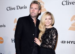 Avril Lavigne And Chad Kroeger Hang At Pre-Grammys Party