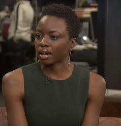 Danai Gurira spoke with HuffPost Live about her Broadway play.