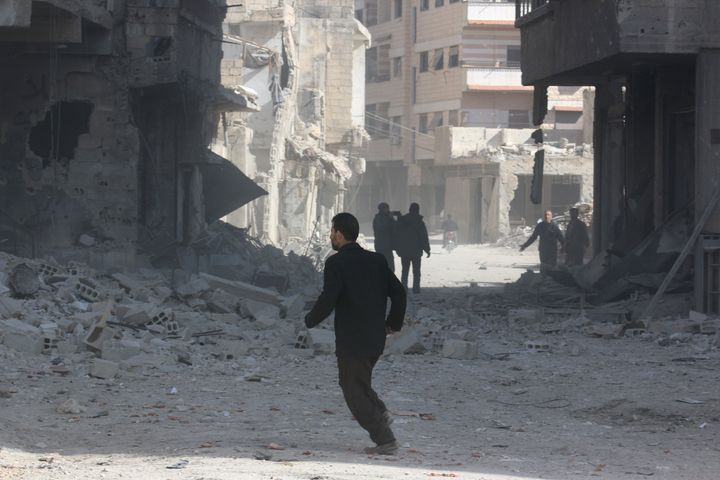 "Despite world powers' agreement on Friday to a ""cessation of hostilities,"" Syrian army offensives across the countr"