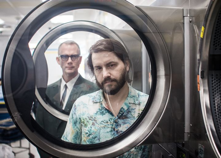 Matmos is comprised ofM. C. Schmidt (left) and Drew Daniel, a real-life couple who have been making experimental music