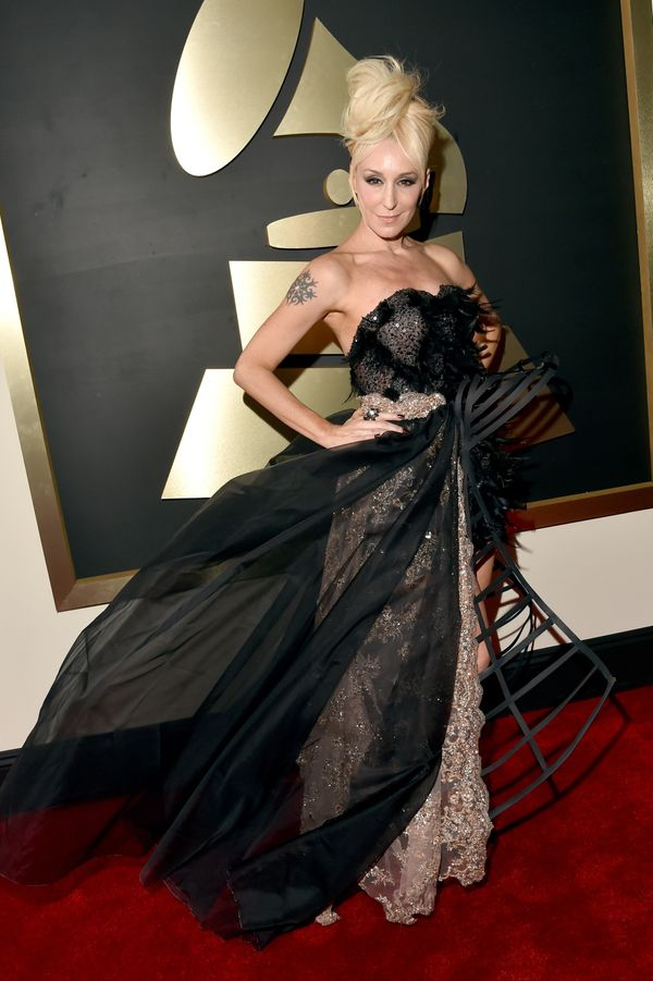 The Most Outrageous Looks From The 2016 Grammys Huffpost