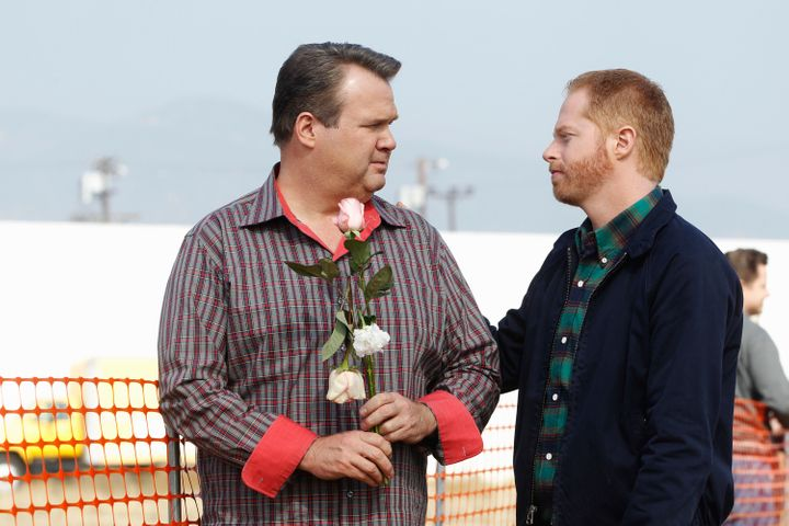 "Cultural critics credit gay couples like Cam and Mitch from ABC's ""Modern Family"" for advancing the national conversation about gay marriage."