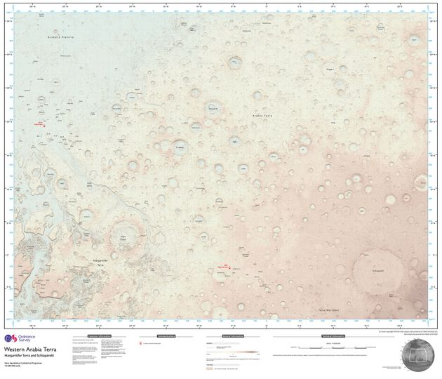 Ordnance Survey cartographer Chris Wesson spent several months creating the