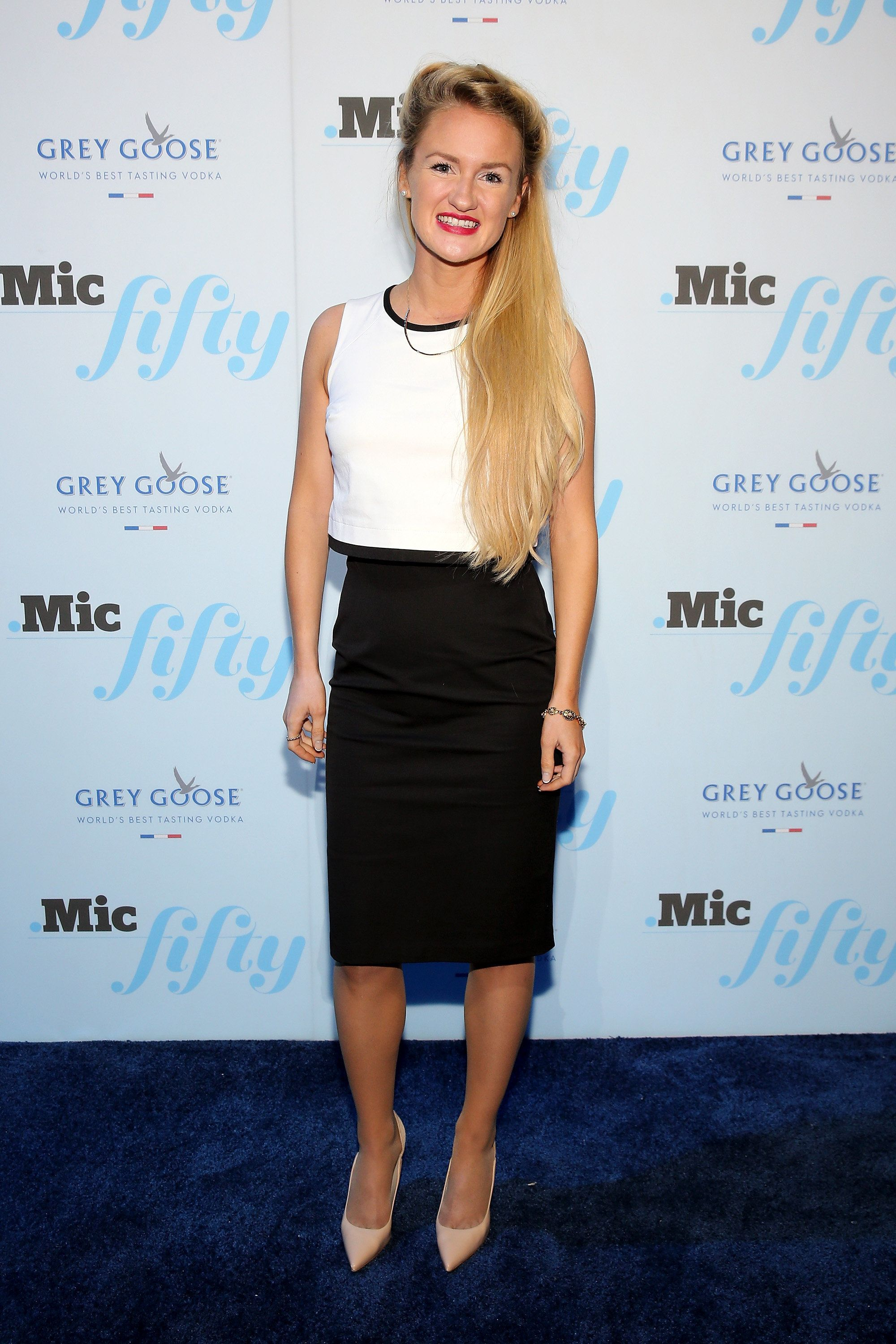 NEW YORK, NY - JUNE 18: Anna Therese Day attends GREY GOOSE Vodka Hosts The Inaugural Mic50 Awards at Marquee on June 18, 2015 in New York City.  (Photo by Neilson Barnard/Getty Images for Grey Goose)