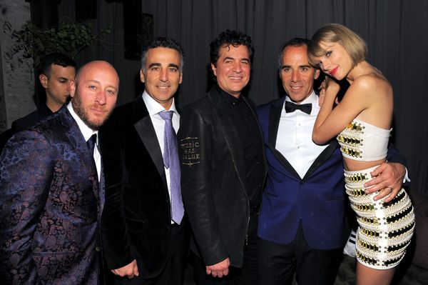 David Nathan, President/COO Republic Records Avery Lipman; Scott Borchetta, CEO of Republic Records Monte Lipman, and r