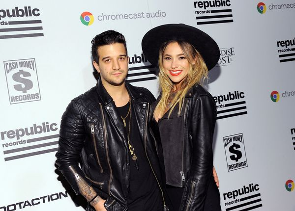 Mark Ballas (L) and BC Jean attends the Republic Records Grammy Celebration.