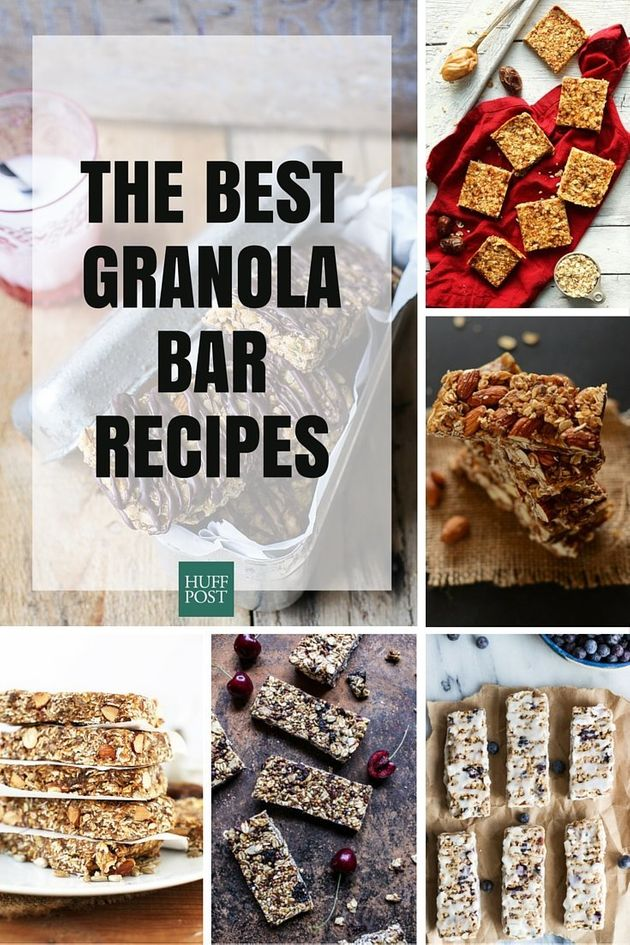 With These Granola Bar Recipes, You'll Know Exactly What You're