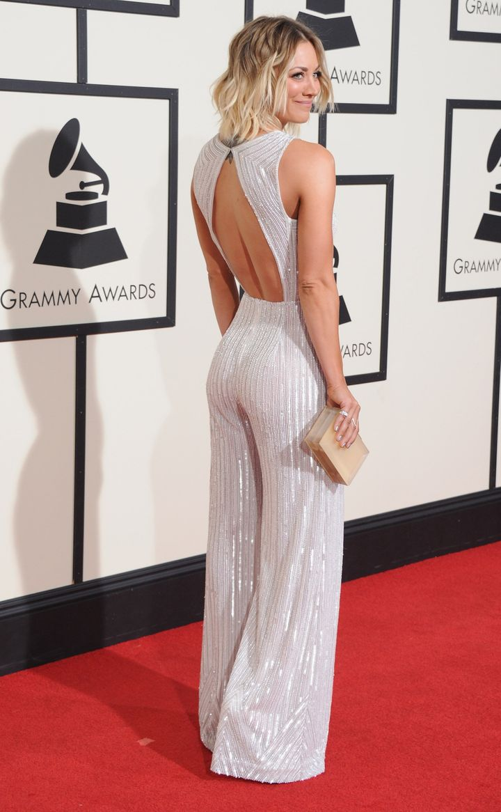 The back of the outfit was just as gorgeous as the front.