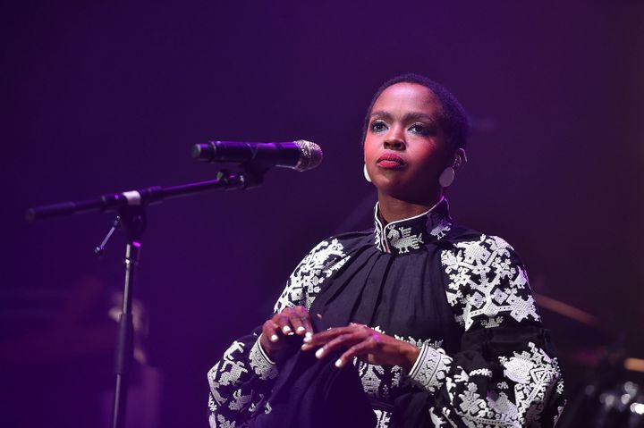 Musician Lauryn Hill canceled her surprise performance with The Weeknd at the Grammys.