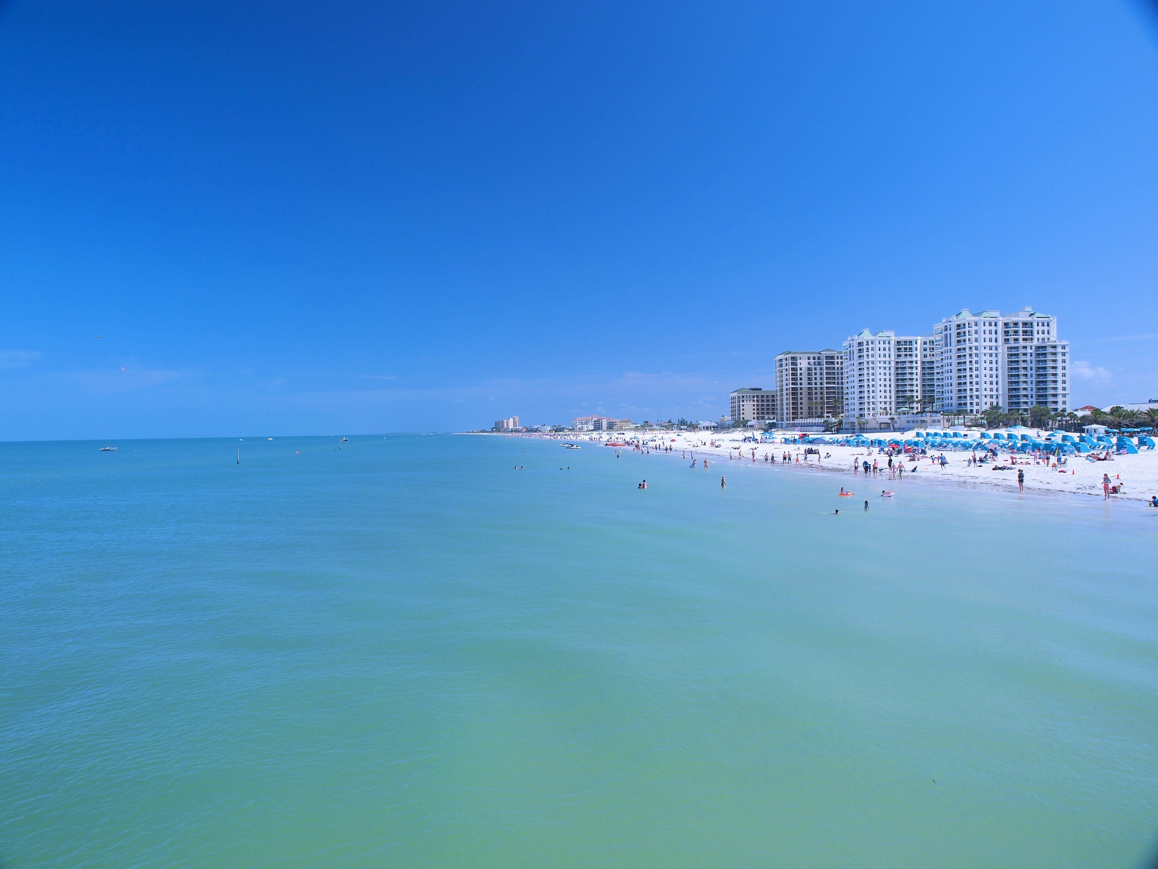 This long expanse of pristine white sand is Florida's crown jewel. The calm and clear water makes it an ideal beach for
