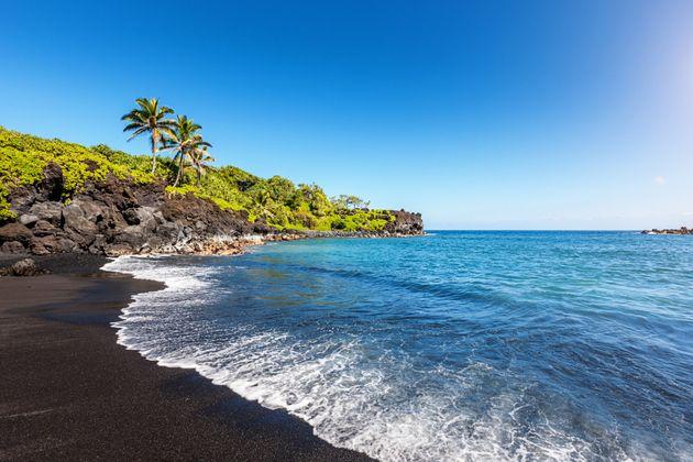 Honokalani Beach,