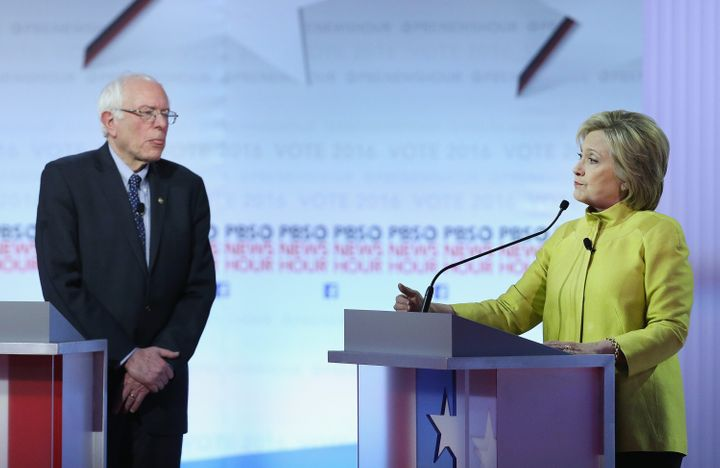 Democratic hopeful Hillary Clinton has insisted that, like her rival Sen. Bernie Sanders (I-Vt.), she supports expanding Social Security benefits.
