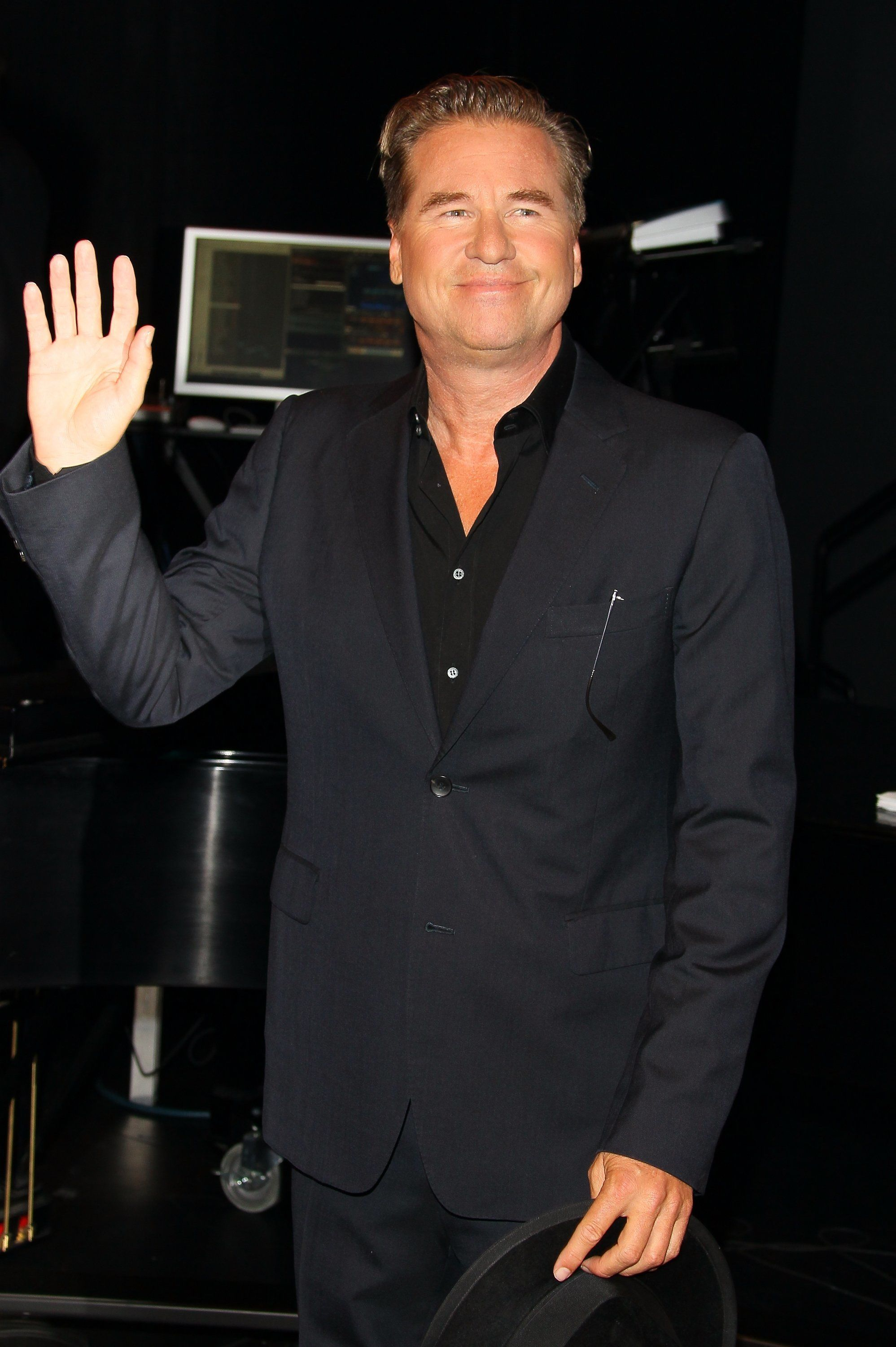SANTA MONICA, CA - SEPTEMBER 25: Val Kilmer attends the 23rd Annual Simply Shakespeare Benefit Reading Of 'The Two Gentlemen Of Verona' at The Broad Stage on September 25, 2013 in Santa Monica, California. (Photo by JB Lacroix/WireImage)
