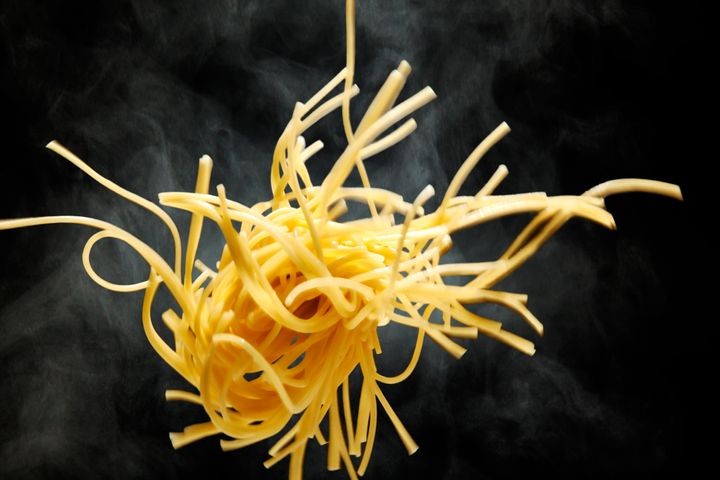 Spaghetti. Nice to eat, but not nice to get turned in to.
