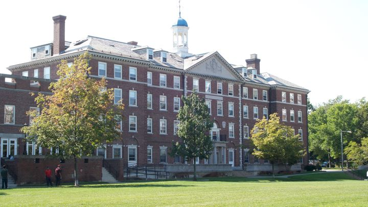 Harvard's Cabot House, the dorm where Alyssa Leader says the school forced her to live for several months with an ex-boyfrien