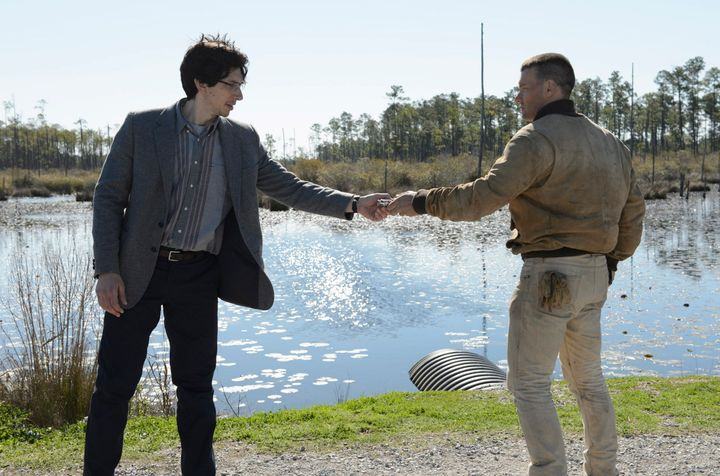"""Adam Driver and Joel Edgerton star in a scene from """"Midnight Special."""""""