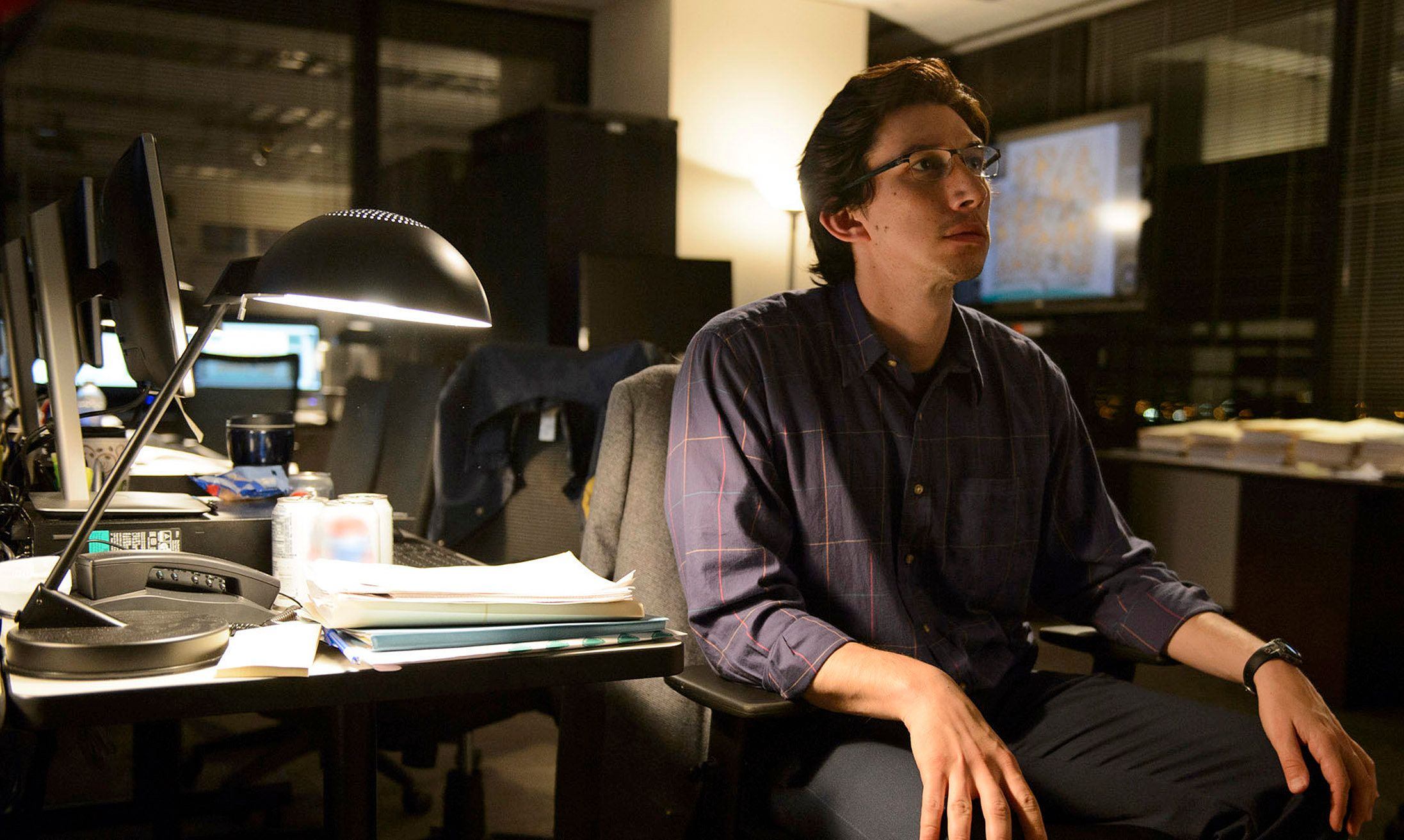 """Adam Driver stars in a scene from """"Midnight Special."""""""