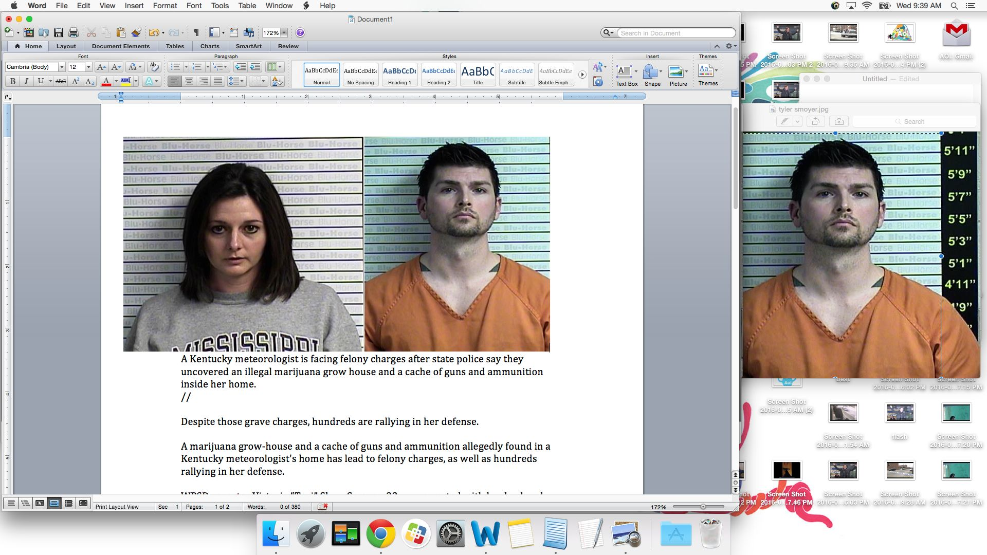 Victoria Shaw Smoyer, 32, and Tyler Smoyer, 35, are facing felony charges after state police say they uncovered an illegal gr
