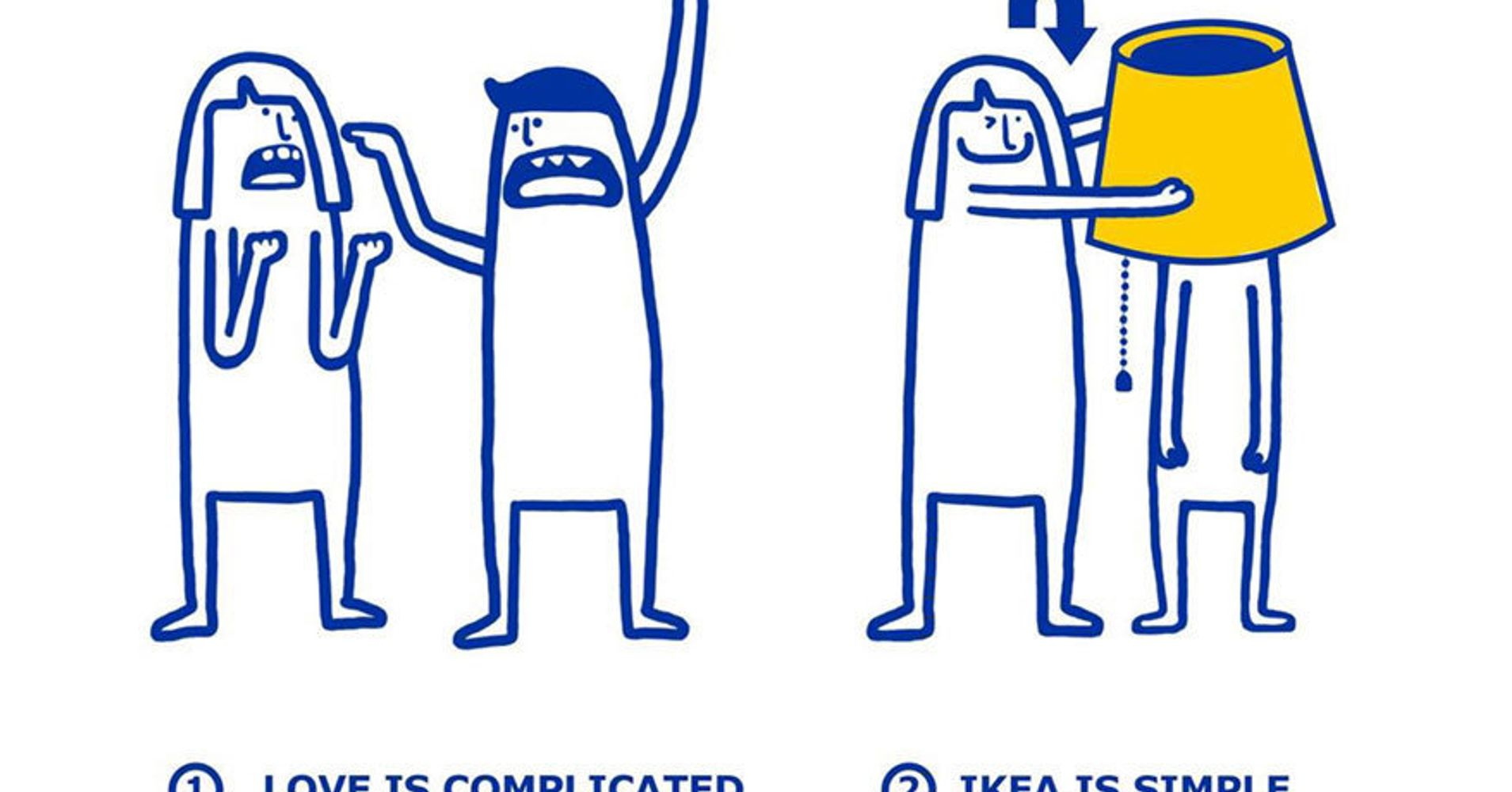 These hilarious illustrations show that ikea can solve all for Ikea call center careers