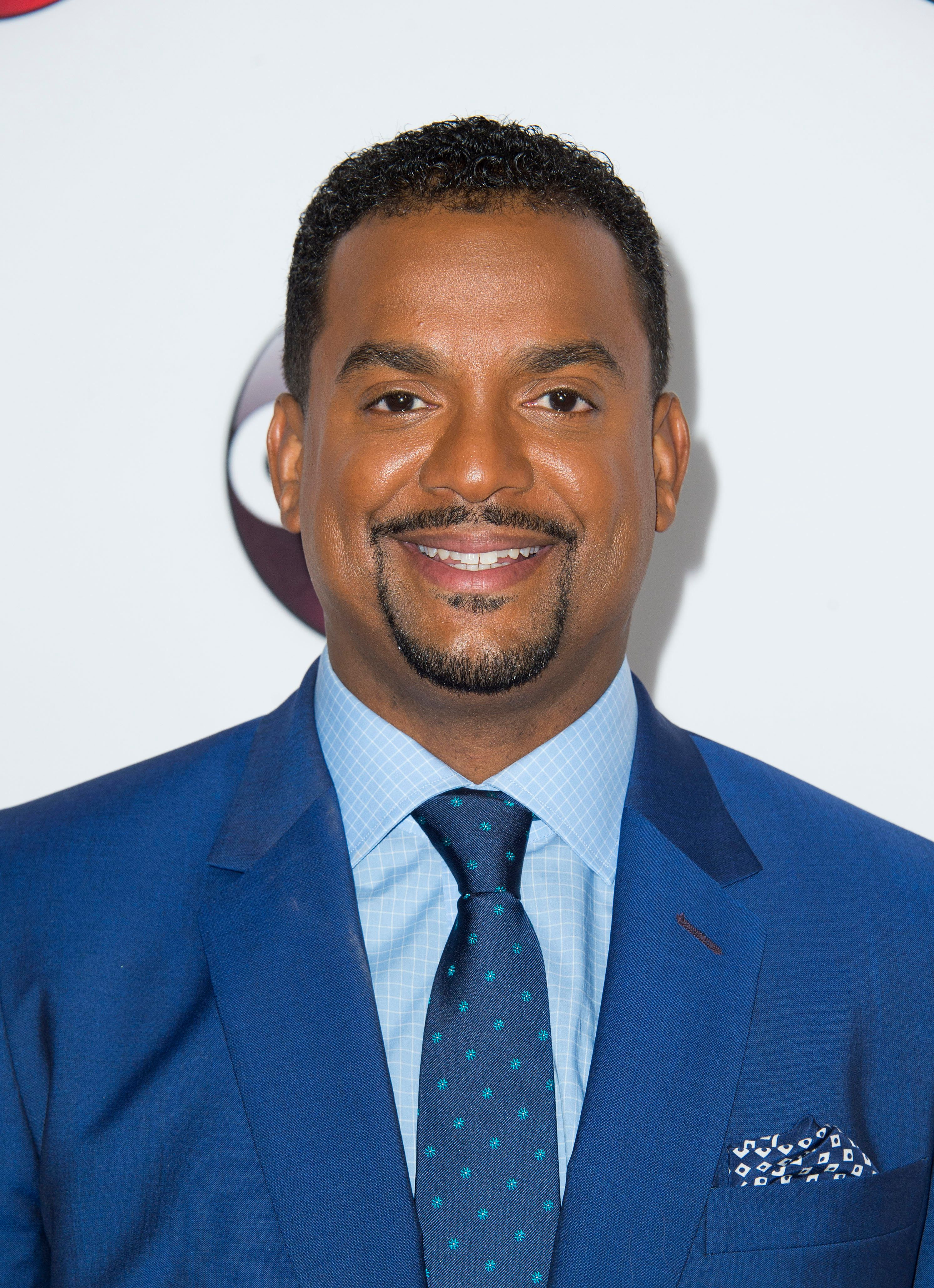 Actor Alfonso Ribeiro attends the Disney ABC Television TCA Winter Press Tour,  in Pasadena, California, on January 9, 2016.AFP PHOTO /VALERIE MACON / AFP / VALERIE MACON        (Photo credit should read VALERIE MACON/AFP/Getty Images)