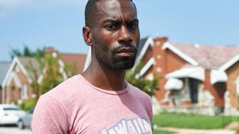 Deray McKesson, an avid protestor and frontline activist, is seen  in St. Louis, Missouri on August 7, 2015. McKesson is one of the most vocal activists since the Ferguson shooting of 18-year-old Michael Brown Jr. in August 2014. The seemingly endless stream of videos and stories showing brutal and outrageous behavior by police has forced the nation to acknowledge the reality of systemic racism, said DeRay Mckesson, an activist with We The Protesters who has nearly 200,000 Twitter followers. 'So much of the work in the past year was focused on exposing and convincing and saying to people 'this is what happened' and 'this is what's wrong', 'believe me and listen',' he told AFP. AFP PHOTO / MICHAEL B. THOMAS        (Photo credit should read Michael B. Thomas/AFP/Getty Images)