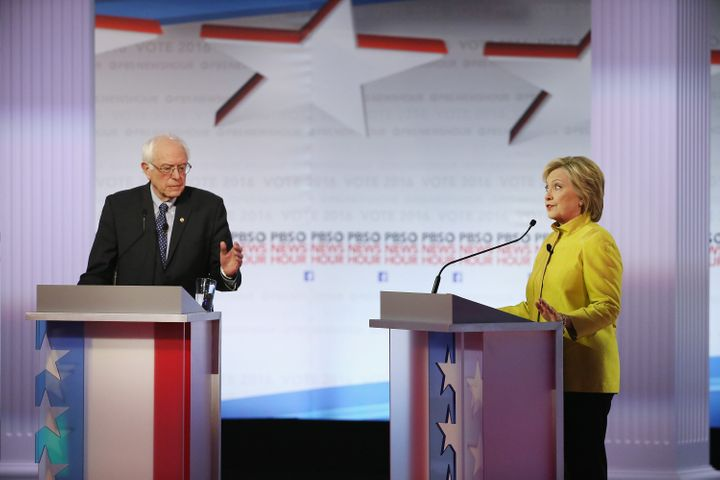 Democratic presidential candidates Sen. Bernie Sanders and former Secretary of State Hillary Clinton are rehashing what happened when a 2007 comprehensive immigration reform bill failed in the Senate.